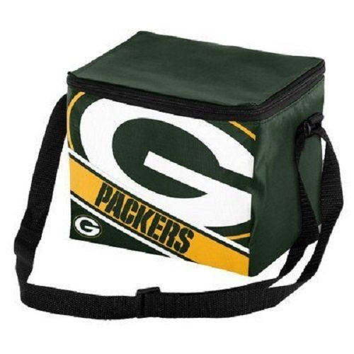 - Green Bay Packers Big Logo Stripe 12 Pack Cooler