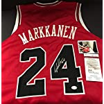 huge discount a1e42 29f3d Lauri Markkanen Chicago Bulls Autographed Nike City Edition ...