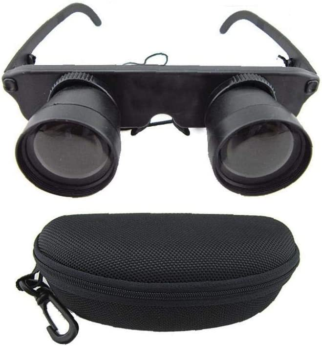 Juego de Pesca al Aire Libre telescopio binoculares Lentes Observaci/ón de los trastos con Nylon Caso 1 Set 3x28
