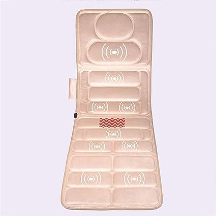 Masaje colchón masajeador eléctrico de múltiples Funciones ...