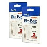 Best Filter Bag For Aquariums - Tetra Whisper Assembled Bio-Bag Filter Cartridges, Small, 4-Count Review