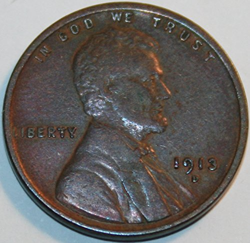 1913 D Lincoln Cent XF40