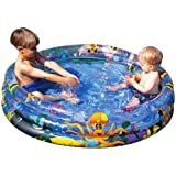 4ft instant pop up instant fill paddling pool for Rigid paddling pool