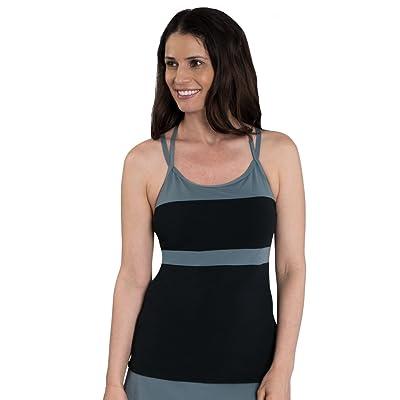 Dolfin T-Strap Tankini Swim Top: Clothing