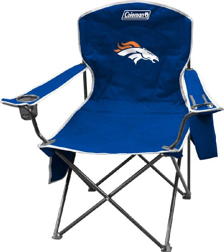 Denver Broncos Tailgating - NFL Portable Folding Chair with Cooler and Carrying Case