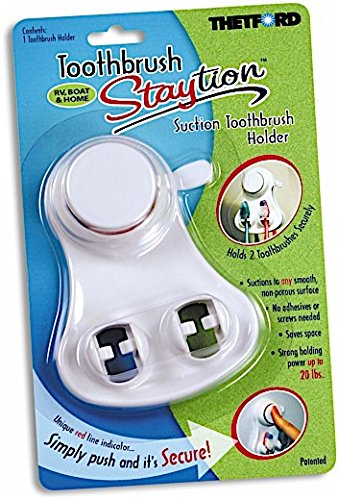 Price comparison product image Thetford Staytion Toothbrush Suction Holder 36669