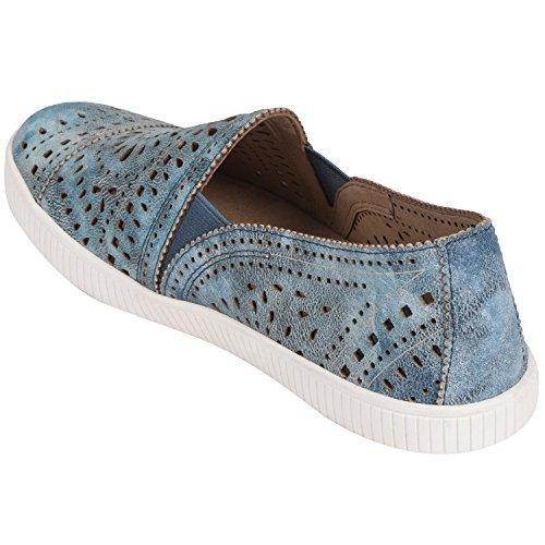 Jord Skor Tayberry Jeansblå