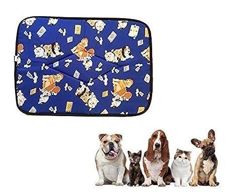 Ducomi® Tobia - Colchoneta y Cuna para Perros y Gatos con Forro Impermeable - Cojín