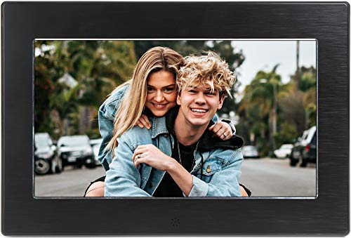 Micca 10-Inch Digital Photo Frame High Resolution Widescreen LCD, MP3 Music 1080P HD Video Playback, Auto On/Off Timer (Model: N10, Replaces M1010z) (Certified Refurbished)