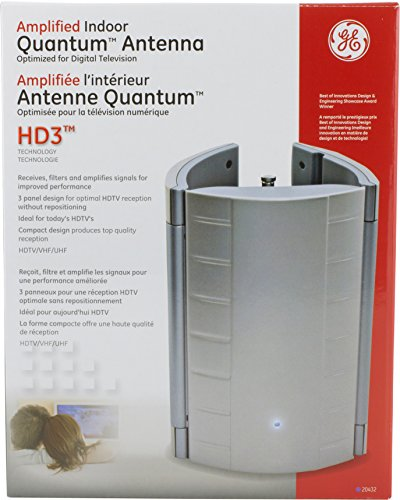 Ge amplified tv antenna indoor