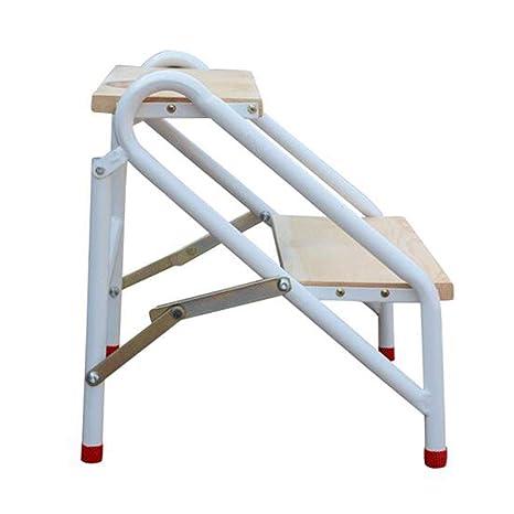 Escalera Plegable para taburetes, Pedal Ancho de Madera ...