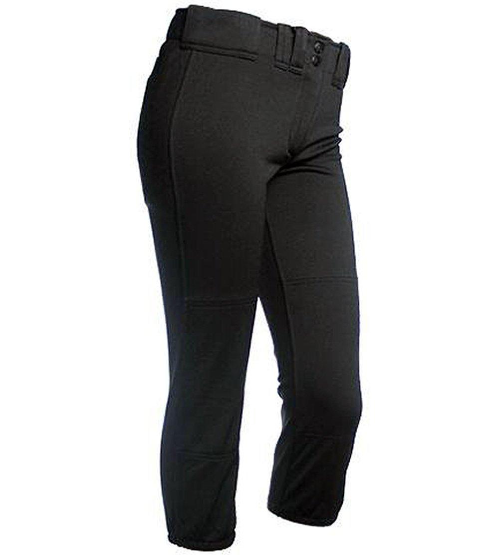 Rip It PANTS ガールズ B074FDDMW6 L|ブラック ブラック L