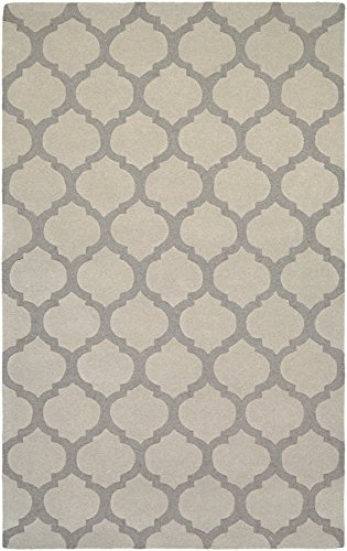 Couristan Indo Natural (Couristan Super Indo-Natural Collection Gypsum Rug, 3 by 5-Feet, Grey)