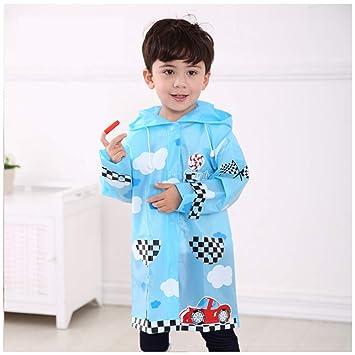 d463076b1d8b3 AINUO Manteau de Pluie pour Enfants coréens garçons et Filles Étudiants bébé  Cartoon imperméable Poncho imperméable