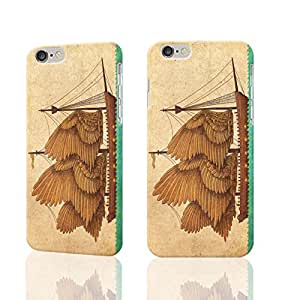 """Winged Odyssey iPhone 6 plus Case ,Design Style Pattern 3D Case Cover Shell Protector for iPhone 6 plus 5.5"""" inches"""