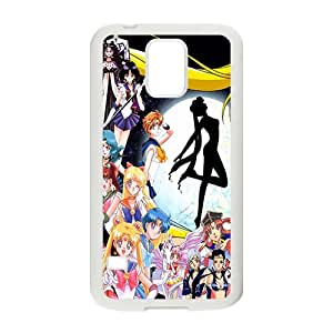 Happy Anime cartoon Beautiful young girl Cell Phone Case for Samsung Galaxy S5