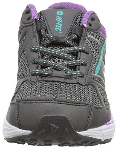 Hi-Tec R200 - Zapatos de Deporte de Exterior Para Mujer Gris (graphite/orchid/electric 052)
