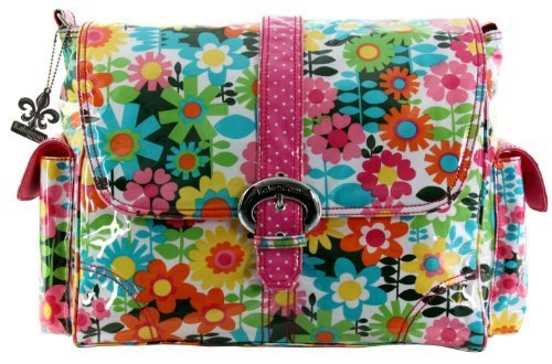 Kalencom Laminated Buckle Changing Bag (Girly Girl) by Kalencom