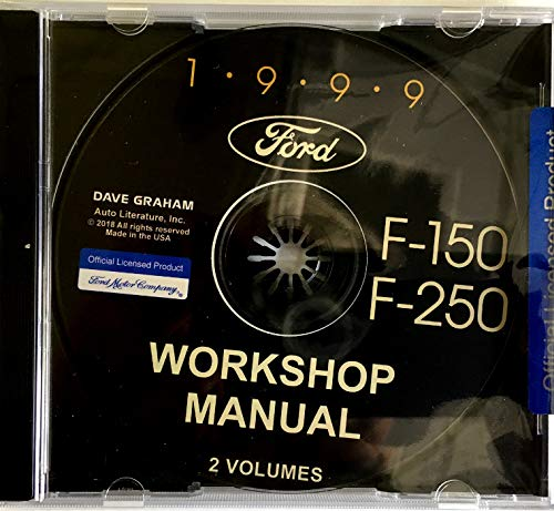- COMPLETE 1999 FORD F-150 And F-250 TRUCK / PICKUP FACTORY REPAIR SHOP And SERVICE MANUAL CD - All Models