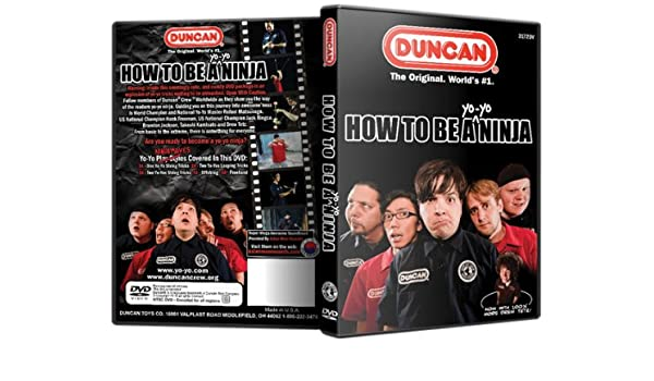 Duncan How To Be a Yo Yo Ninja Instructional DVD: Amazon.es ...
