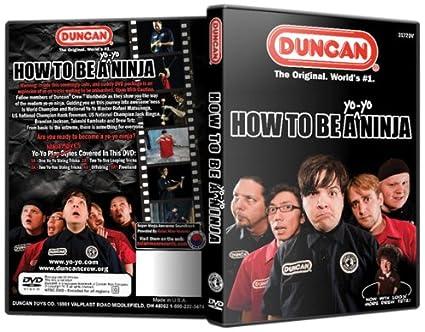 Amazon.com: Duncan Cómo ser un DVD instructivo Yo Yo Ninja ...