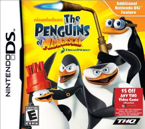 The Penguins of Madagascar - Nintendo DS (Penguin Game Of Madagascar Ds)