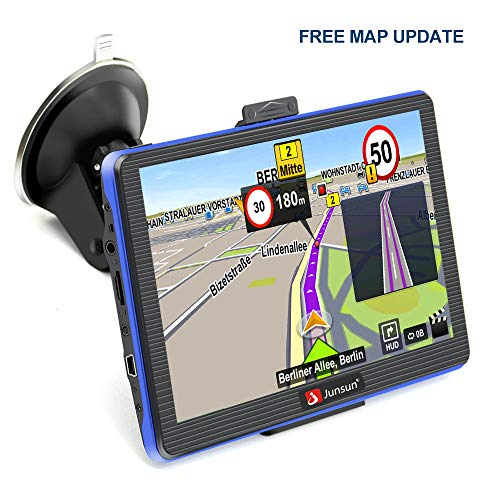 GPS Navigation for Car 7 inch GPS System with Lifetime Maps Capacitive Touchscreen Built-in 8GB FM MP3 MP4 Sat nav Review