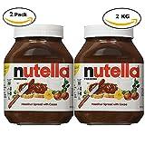 Nutella Hazelnut Spread, 1kg / 35.3 oz each, 2 Count (Total 2kg / 70.6 oz)