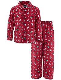 Red Little Boys Christmas Stockings Pajamas