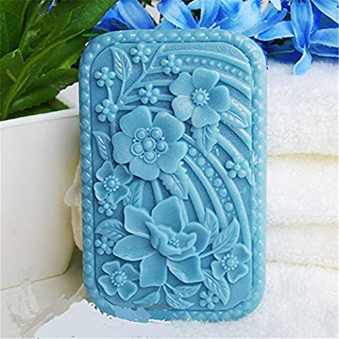 Longzang S438 Craft Art Silicone Handmade Flowers Soap Mold, Random - Flower Silicone Candle