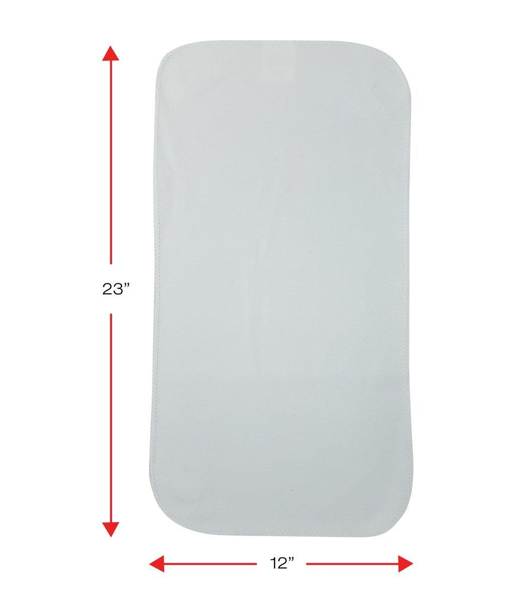 Snoozy 3 Piece Flannel Waterproof Reversible Changing Pad Liners Fiberlinks Textiles Inc CAT-S2211FW/3