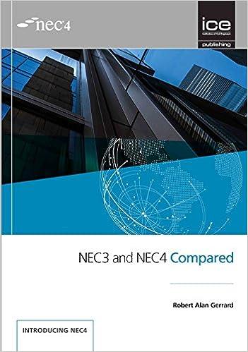 Nec3 And Nec4 Compared Amazon Robert Alan Gerrard