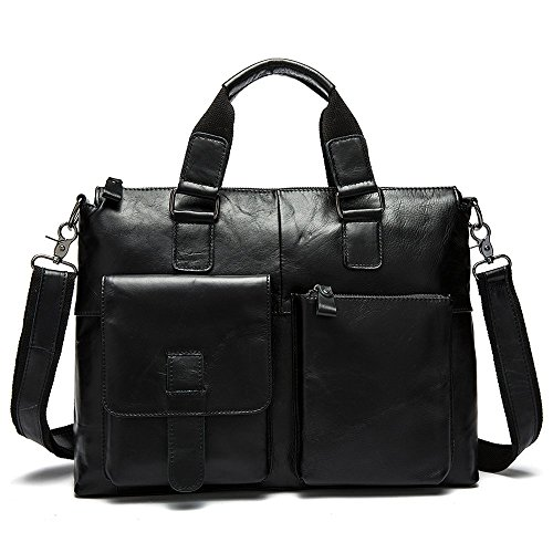 Harrms Genuine Leather Shouler Briefcase product image