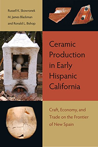 Ceramic Production in Early Hispanic California: Craft, Economy, and Trade on the Frontier of New - Mexican History Pottery