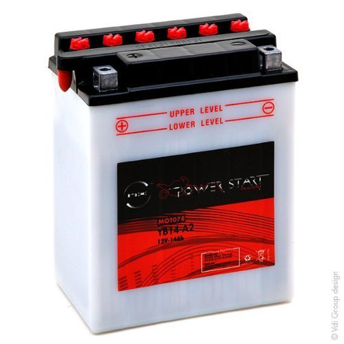 Bater/ía Moto YB14-A2 12V 14Ah NX