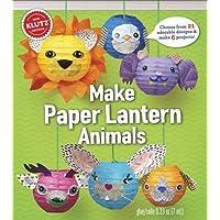 KLUTZ Make Paper Lantern Animals Toy