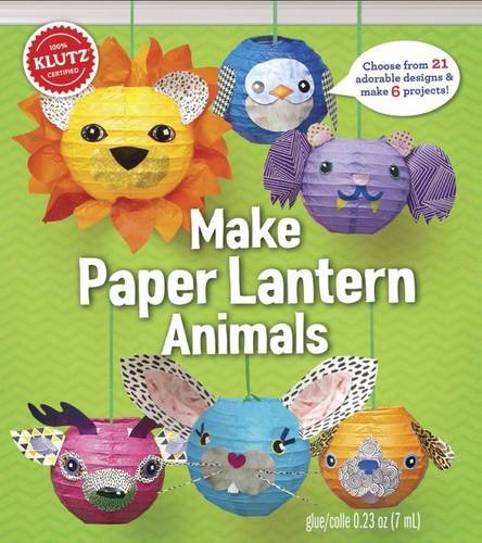 Twirled Paper Kit - KLUTZ Make Paper Lantern Animals Toy