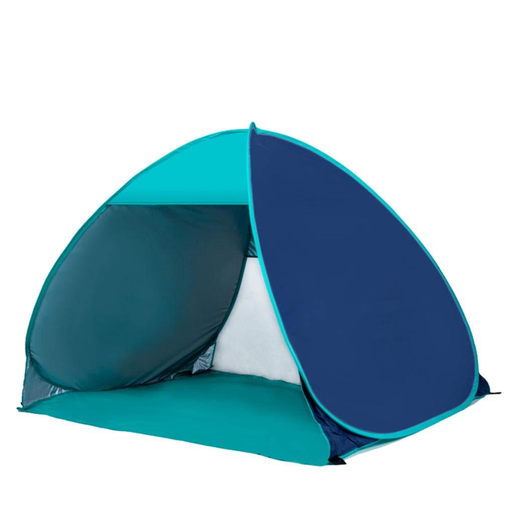 MODKOY Automatisches Pop-Up Beach-Zelt für 2 Personen, schnell zu öffnendes Sonnenschutz-Sonnenschutz-Zelt für Familien-Camping-Angeln und Outdoor-Aktivitäten
