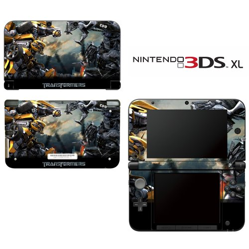 Transformers Bumblebee Decorative Video Game Decal Cover Skin Protector for Nintendo 3DS XL