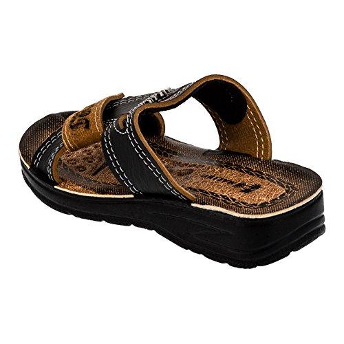 Malibu - Sandalias de vestir de Material Sintético para niño #199sw Schwarz