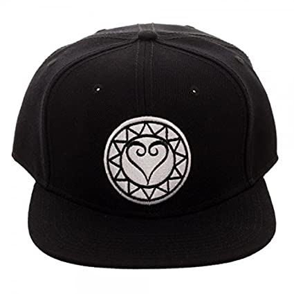 d7c6afb048a Image Unavailable. Image not available for. Color  Kingdom Hearts  Embroidery Logo Snapback Baseball Hat