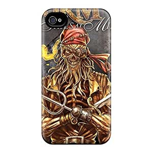 Shock Absorbent Hard Cell-phone Case For Iphone 4/4s (RoR8428avjE) Unique Design Nice Guns N Roses Pictures