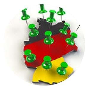 alfombrilla de ratón en Alemania - ronda - 20cm