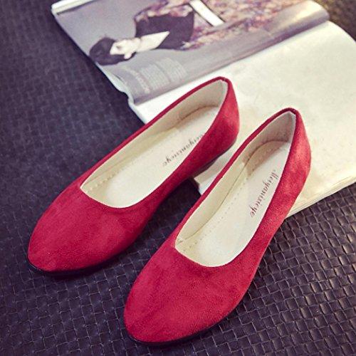 Hinten Mädchen Sommer Geschlossen Vorne Sommerschuhe Outdoor Elegant Rot Sandalen Flache Damen Ansenesna Leder Sandalup wqxYXzEx