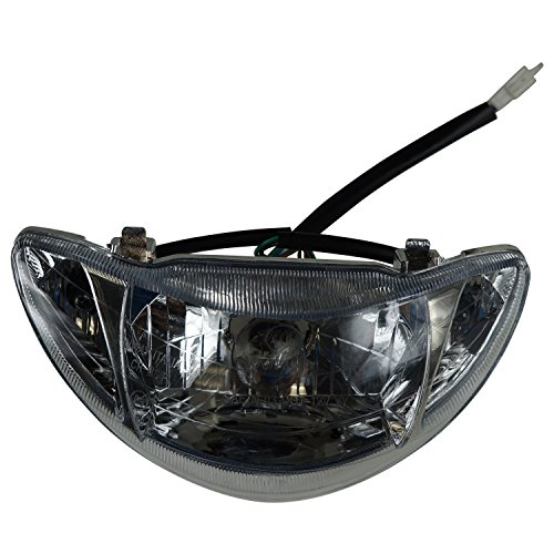 Scooter Headlight Assembly : Cc headlight scooters