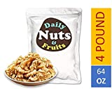 """Daily Nuts & Fruits 4LB DAILY NUTS""""JUST WALNUTS"""" BULK/SUPER FOOD/EXTRA LIGHT COLOR Review"""