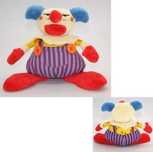 Toy Story 3 Disney Chuckles the Clown Colorful Cartoon Plush Soft Doll 6.5