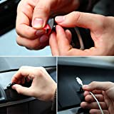 Bleiou-8PCS-Multifunctional-Adhesive-Car-Charger-Line-Clasp-Clamp-HeadphoneUSB-Cable-Car-Clip-Interior-Accessories