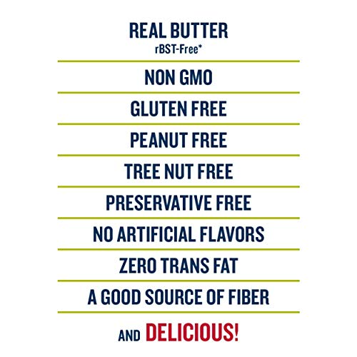SkinnyPop Original Popped Popcorn, Individual Bags, Gluten Free Popcorn, Healthy Snacks, Non-GMO, 4.4oz (Pack of 12), Butter