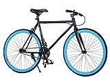 Ancheer Fixed Gear Bike Single Speed Urban Fixie Bike